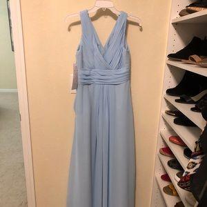 Bill Levkoff Capri Chiffon Bridesmaid Dress